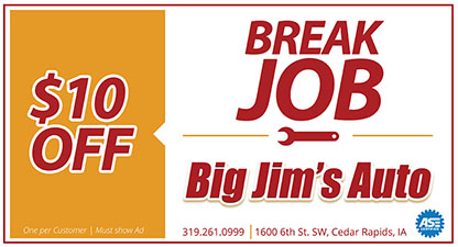 Discount break job cedar rapids, iowa